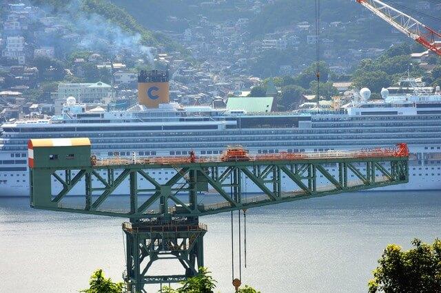 三菱長崎造船所:ジャイアント・カンチレバークレーンの画像1