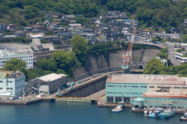 三菱長崎造船所:第三船渠の画像1