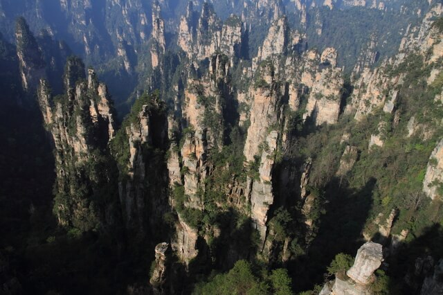 武陵源の自然景観と歴史地域