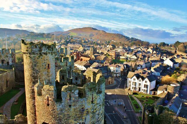 グウィネズのエドワード1世の城群と市壁群の画像1