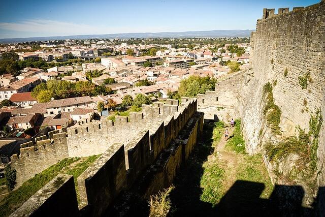 カルカッソンヌの歴史的城塞都市の画像6