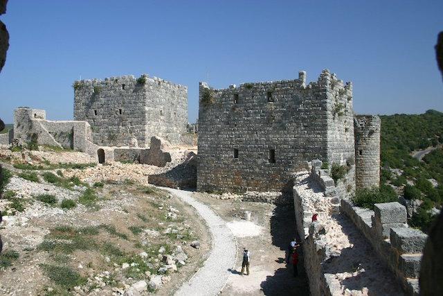 クラック・デ・シュヴァリエとサラディン城の画像4