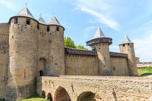 カルカッソンヌの歴史的城塞都市の画像7