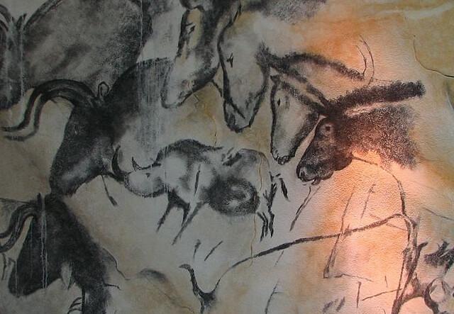 アルデシュ県ポン・ダルクの装飾洞窟:ショーヴェ・ポン・ダルク洞窟の画像1