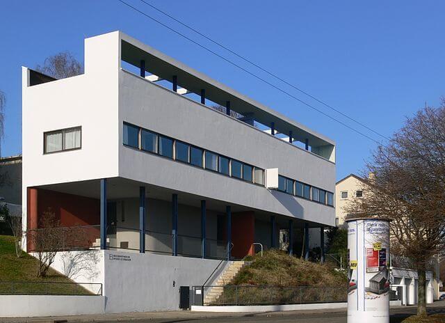 ヴァイセンホーフ・ジードルングの住宅の画像1