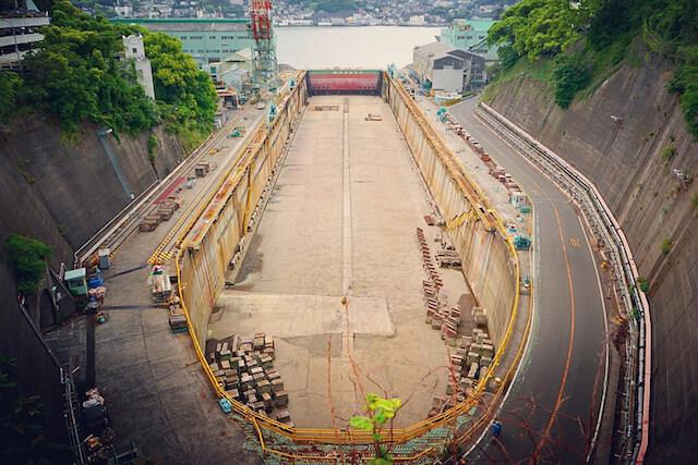 三菱長崎造船所:第三船渠の画像2