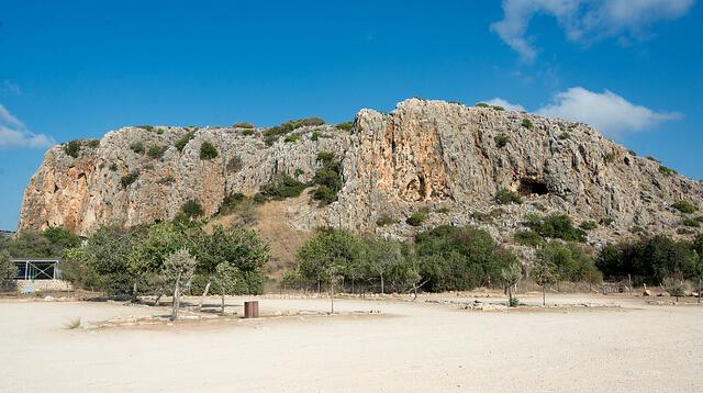 人類の進化を示すカルメル山の遺跡:ナハル・メアロット/ワディ・エルムガーラ渓谷の洞窟群